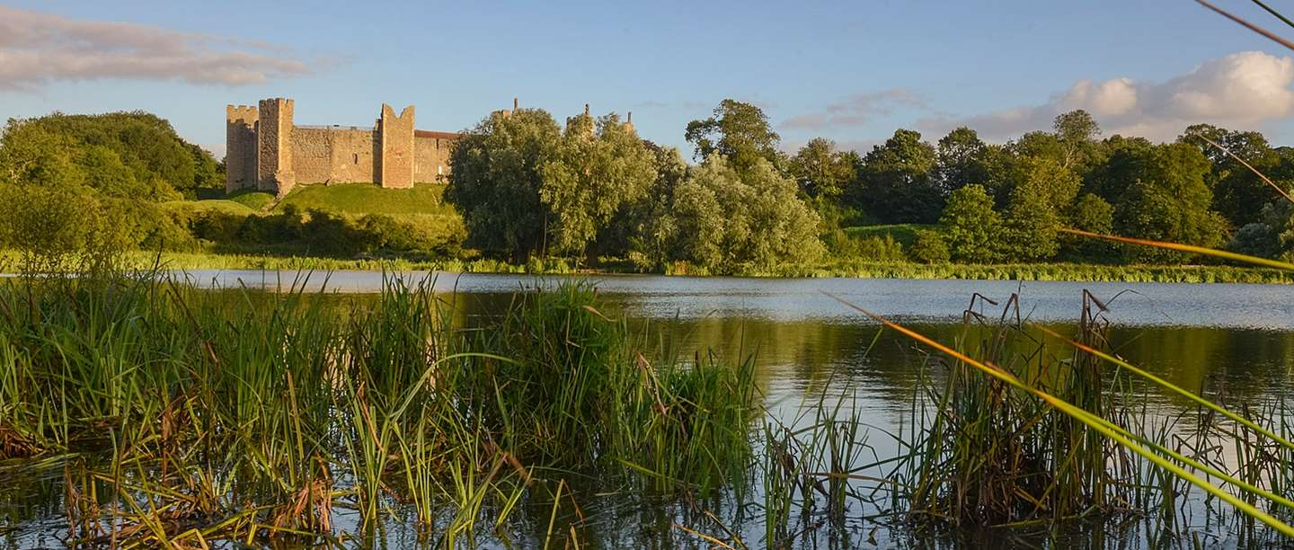 Explore Iconic Framlingham Castle on a Farm Holiday