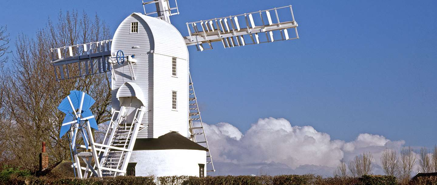 Visit Saxtead Windmill in Suffolk