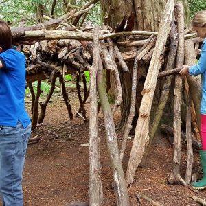 Den Building in Suffolk, Outdoor Group Activities