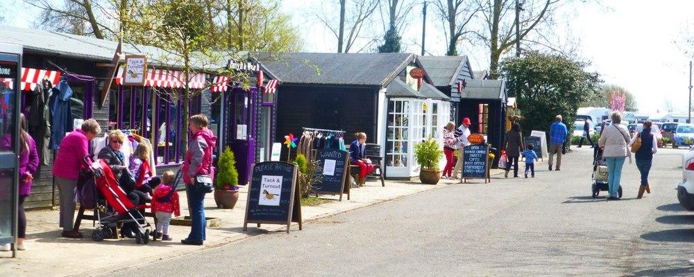 Visit Stonham Barns in Mid Suffolk, Local Activities