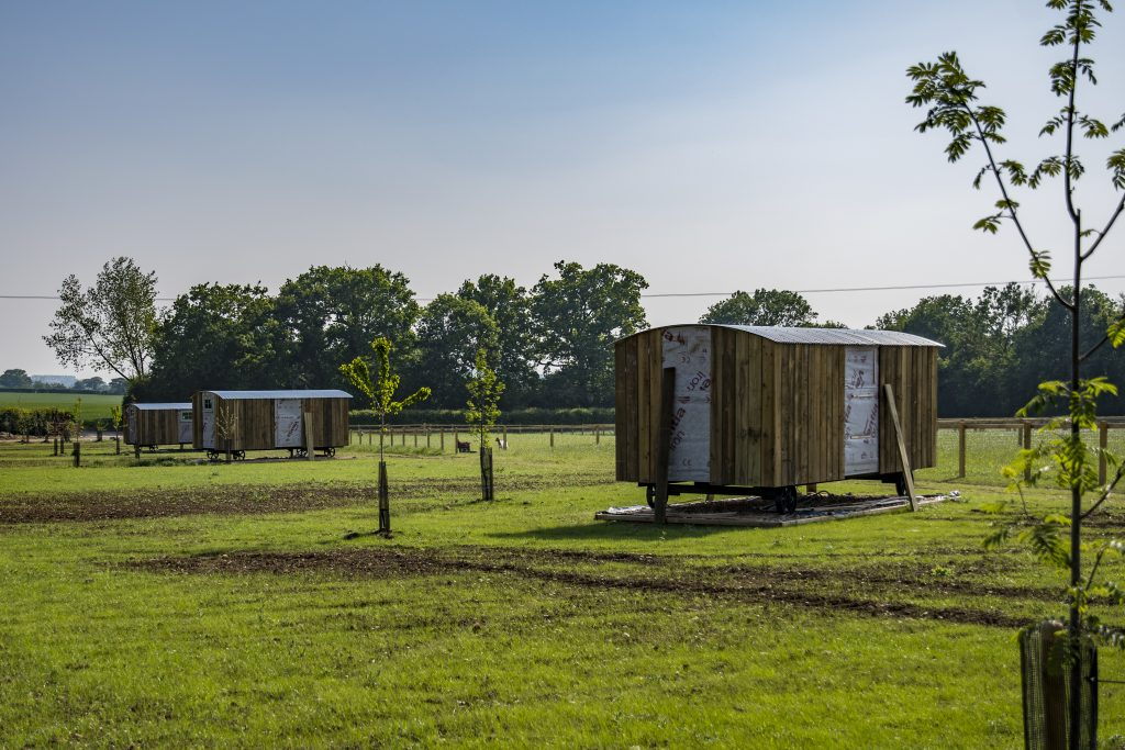 Holiday in a Traditional Shepherd Hut, Suffolk