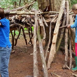 Den Building in Suffolk, Outdoor Group Activities