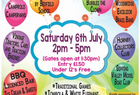 Upcoming Event: Bedfield Village Fete